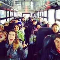 Ridiculously Fun Ski Bus Trip