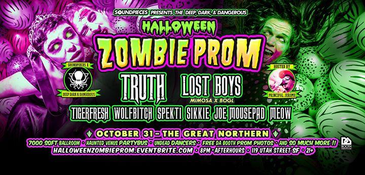 Halloween Zombie Prom - Deep Dark & Dangerous x Soundpieces