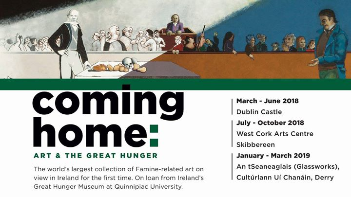Coming Home Art and the Great Hunger. Tour and Artist Panel.