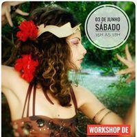 Workshop de Dana Tribal Fusion com Priscila Sodr  Brotas