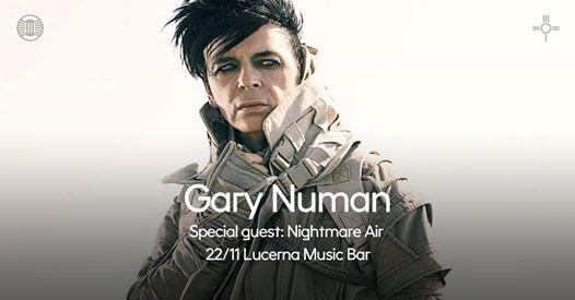 Gary Numan  special guest Nightmare Air