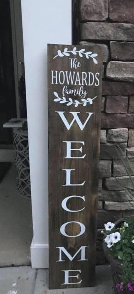 4ft Home Sign