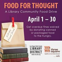 Now - April 30 &quotFood For Thought&quot