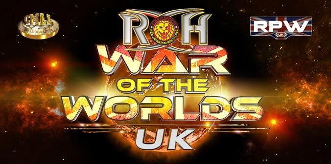Ring of Honor Wrestling - War of the Worlds UK London