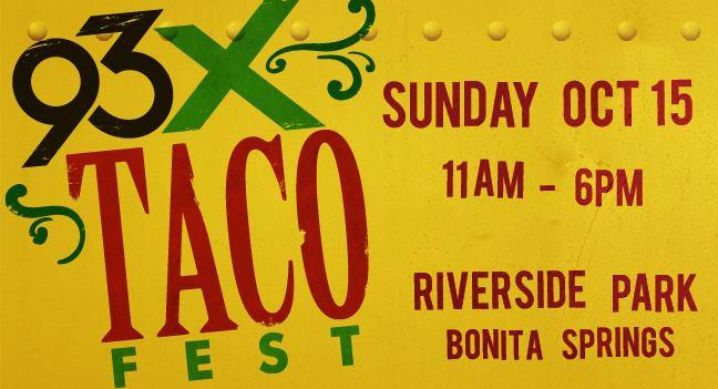 93X Taco Fest Bonita Springs
