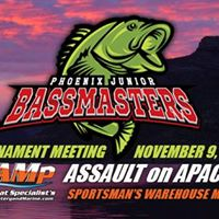 Phoenix Junior Bassmasters Pre-Tournament Meeting for Apache