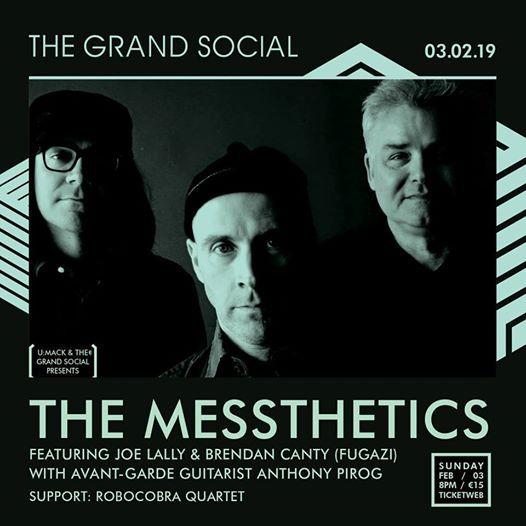 The Messthetics (ex Fugazi) at the Grand Social