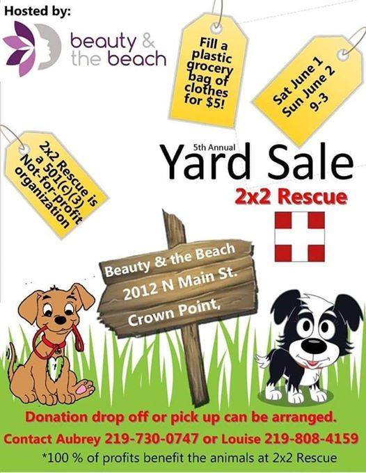 2019 Garage Sale at Beauty & the Beach, Indiana