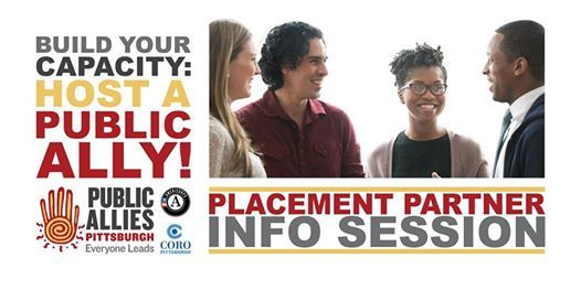 Public Allies Pittsburgh 2019-2020 Partner Info Session 1