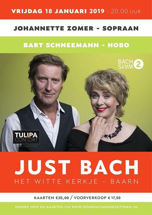 JuSt Bach - door Johannette Zomer en Bart Schneemann