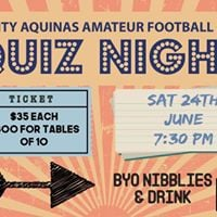 TAAFC Quiz Night
