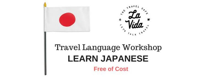 Free of Cost Japanese Travel Language Workshop
