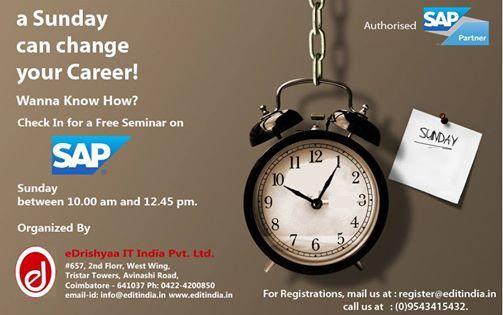 SAP Free career info session