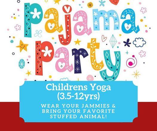 Pajama Party-Childrens Yoga (3.5-11yrs)
