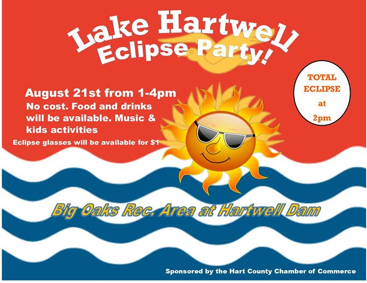 Lake Hartwell Eclipse Viewing Party