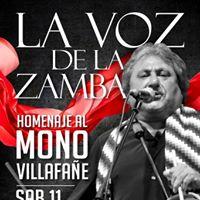 La Voz de la Zamba - Homenaje al &quotMono&quot Villafae