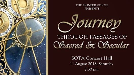 Journey Through Passages Of Sacred & Secular