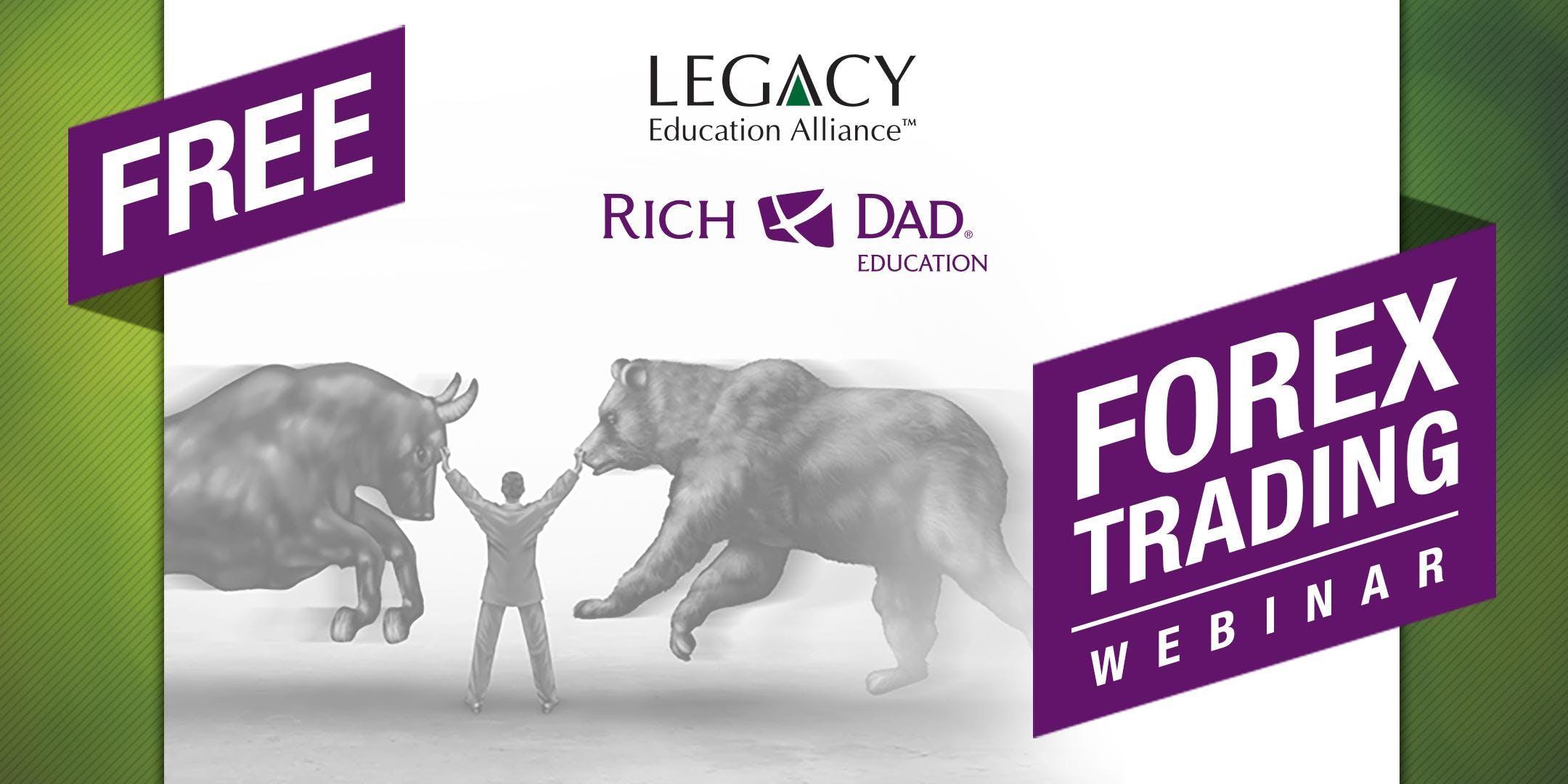 FREE Rich Dad Education Forex Trading Webinar! | evento | Boise