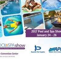 The pool and spa show 2017 at atlantic city convention for Pool show atlantic city