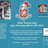 KIWL Charity Quiz Night
