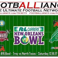 New Orleans Bowl  Troy vs North Texas RLBowl