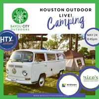 Houston Outdoors LIVE  Camping 101 by BCO &amp HTXO