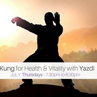 Chi Kung for Health &amp Vitality with Yazdi