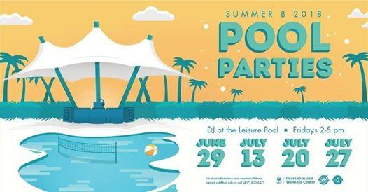 DJ at the Leisure Pool - Summer B Pool Parties 2018 | Florida