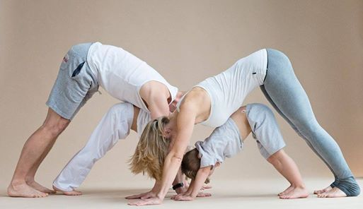 VOL Ouder kind yoga