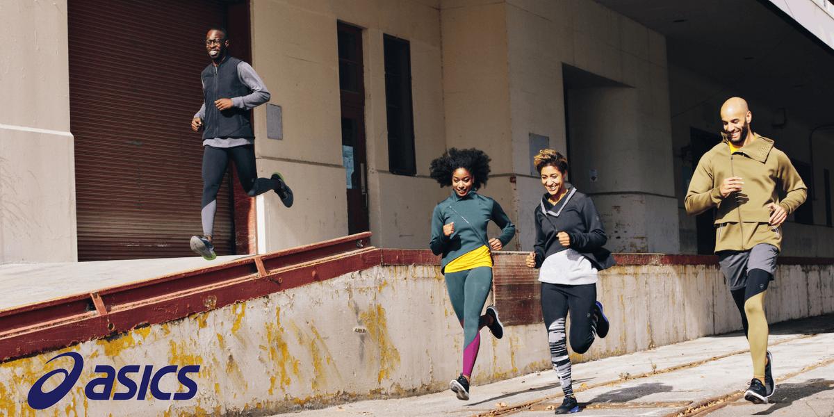 Run with ASICS - Designer outlet Rosada