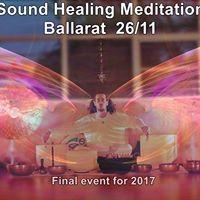 Ballarat Sound Healing Meditation - 2611