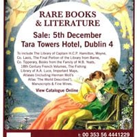 Rare Book Sale Dublin