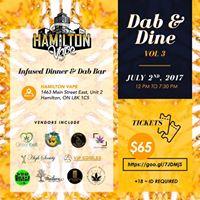 Hamilton Vapes Dab and Dine Vol.3