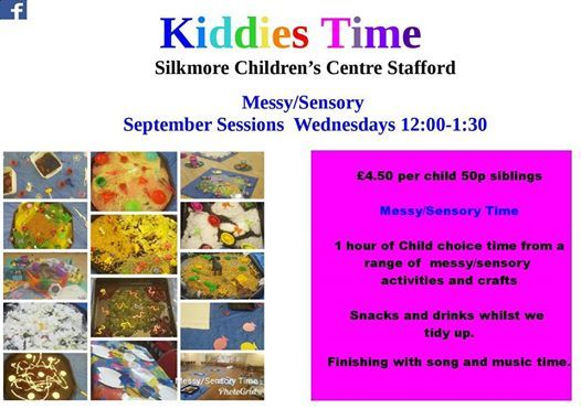 MessySensory Time at Silkmore Childrens Centre