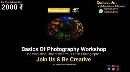 Basic Photography Workshop - Erragada Market
