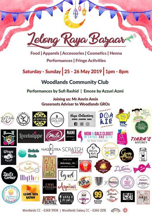 Lelong Raya Bazaar  Woodlands Community Center