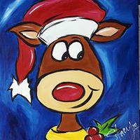 Tavern on 74 Peachtree City Christmas Painting Class