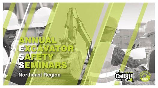 Northeast Region Excavator Safety Seminar 2019