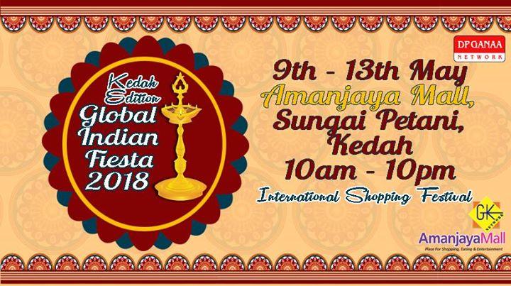 Global Indian Fiesta 2018 At Amanjaya Mall Sungai Petani