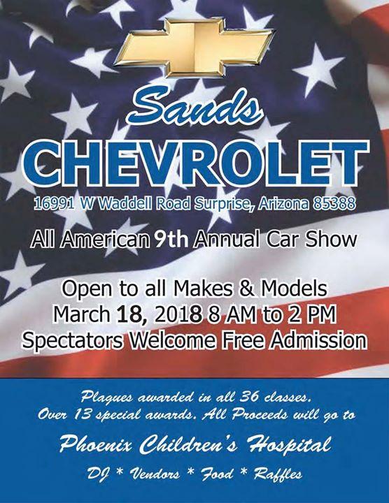All American Car Show 9th Annual