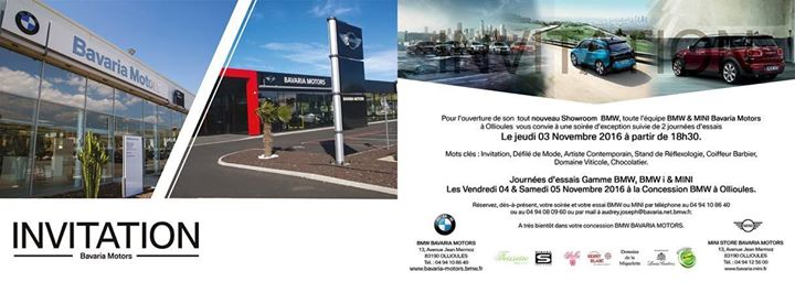 Inauguration Bmw At Bmw Ollioules Ollioules