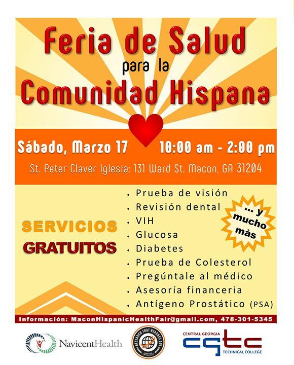 Feria de Salud para la Comunidad Hispana