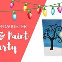 Mother Daughter Tea &amp Paint