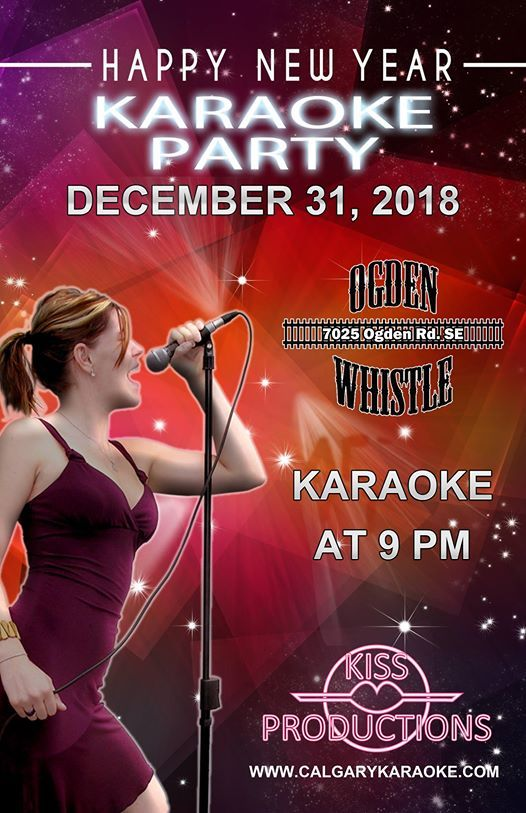 2018 Christmas Eve Karaoke Party at the Ogden Whistle
