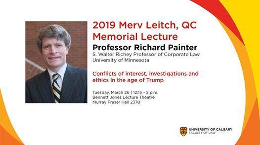2019 Merv Leitch QC Memorial Lecture