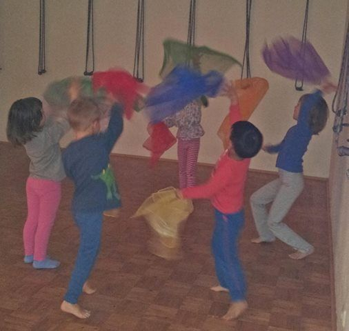 Kinderyoga fr Kindergartenkinder