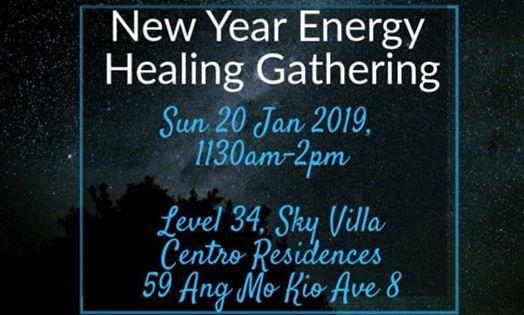 New Year Energy Healing Gathering
