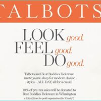 Talbots Shop and Support Best Buddies on May 6 2017