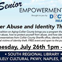 LCA-Senior Empowerment Series Elder Abuse &amp Identity Theft