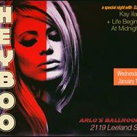 Hey Boo - a special night at Arlos